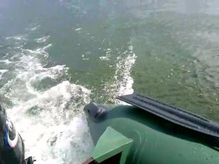 Обкатка мотора Parsun T2.6BMS и лодка Вулкан 280