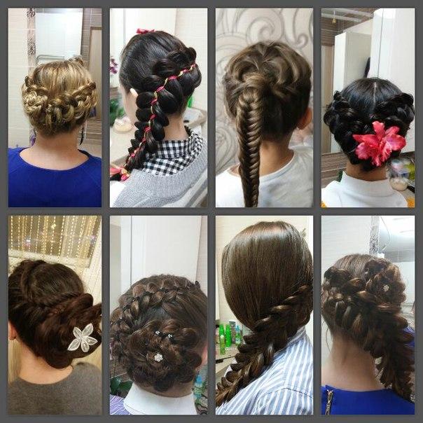 плетение кос девочкам