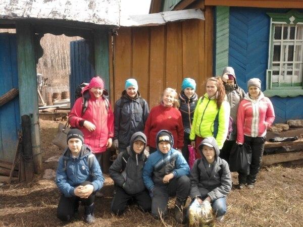 В исчезающем селе Танаевка азнакаевские волонтеры провели акцию «Обелиски памяти»