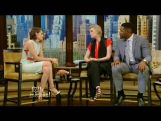 Kristen Stewart on Live! with Kelly and Michael (17/08)