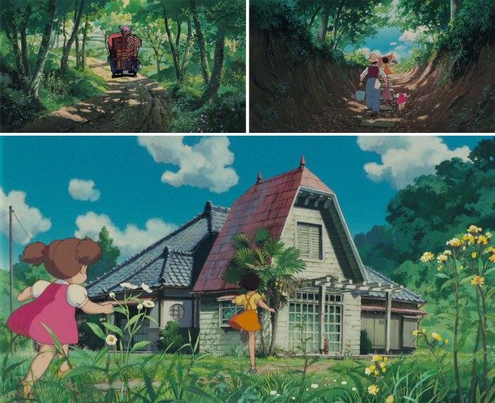 Структура оповіді «Мій сусід Тоторо»