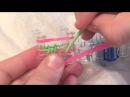 Плетение резинок на станке видео по русски