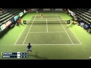 Yoshihito Nishioka crazy ball at Aptos Challenger