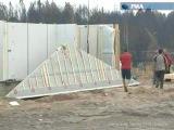 Дома из ЛСТК для погорельцев 2010 г. Применение ЛСТК.
