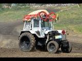 Первая девушка-пилот. Тракторные гонки Бизон Трек Шоу-2013