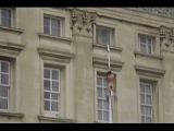 Buckingham Palace naked man: Watch nude man appearing to climb out of royal residence window