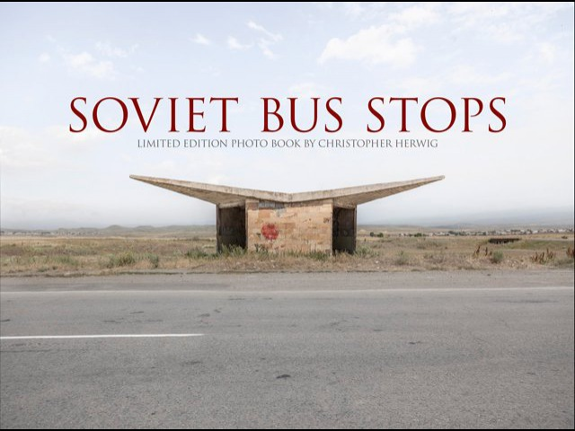 Soviet Bus Stops - available on Amazon, Volume 2 coming Fall 2017
