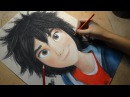 Speed Drawing: Hiro Hamada (Big Hero 6) | Diana Díaz