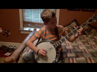 11 Year-Old Jonny Mizzone - Sleepy Man Banjo Boys - Bela Fleck Whitewater
