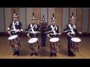 The Hellcats Pratt Drum Corps on Parade