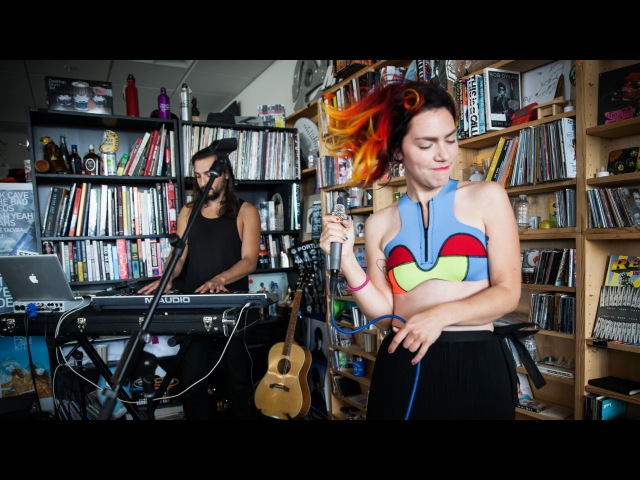 Genevieve NPR Music Tiny Desk Concert