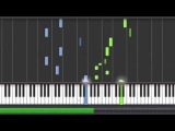 Yiruma - River Flows in you Piano tutorial Synthesia 100 speed