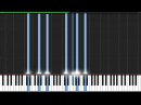 Gymnopédie No. 1 - Erik Satie [Piano Tutorial] (Synthesia)