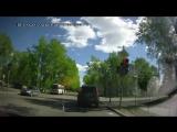 На красный. Северодвинск. Хорошо хоть ГАИ поняли, что сами накосячили со светофором!