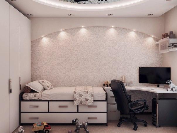 Комната 10 кв м дизайн фото