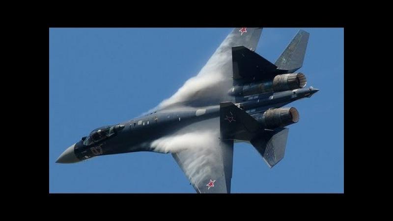 Paris Air Show 2013 - Su-35 vertical take-off Air Show (HD)