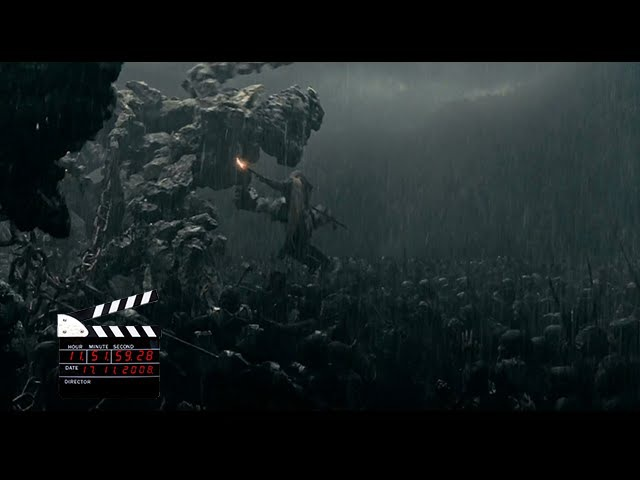 Сцена из фильма Ной, битва за ковчег