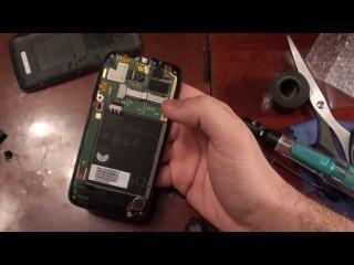 Lenovo A390 замена тачскрина\ touchscreen replacement