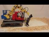 Lego R/C Snowgroomer with Kaiser Excavator