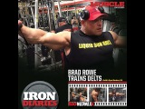 Brad Rowe trains delts 10 days from Cali Pro