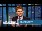 Adam Scott and Paul Rudd Got Kicked Out of a Wedding Together - Late Night with Seth Meyers