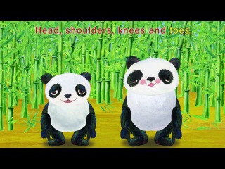Head Shoulders Knees and Toes - Children Songs