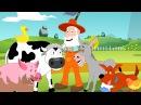 Old McDonald had a farm Kids tv nursery rhymes animal sound song