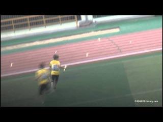[Fancam] - 120710 - Dongwoo & SungGyu - Teasing, run & punishment