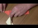 SYuRIKEN Letayuschiy Origami iz bumagi Paper Ninja Star 1