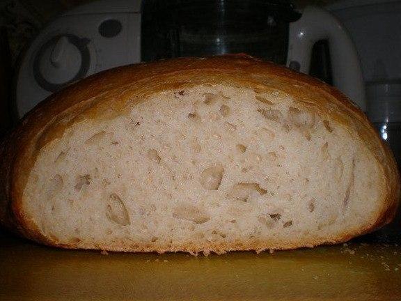 Домашний хлеб в духовке рецепт