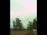 каждый день летает над домом . видео 1 ))))