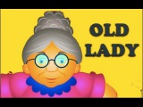 There Was An Old Lady Who Swallowed A Fly Nursery Rhyme