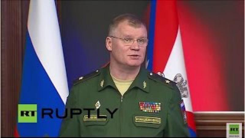 Russisches Verteidigungsministerium zur geplanten Waffenruhe und jüngste Operationen in Syrien