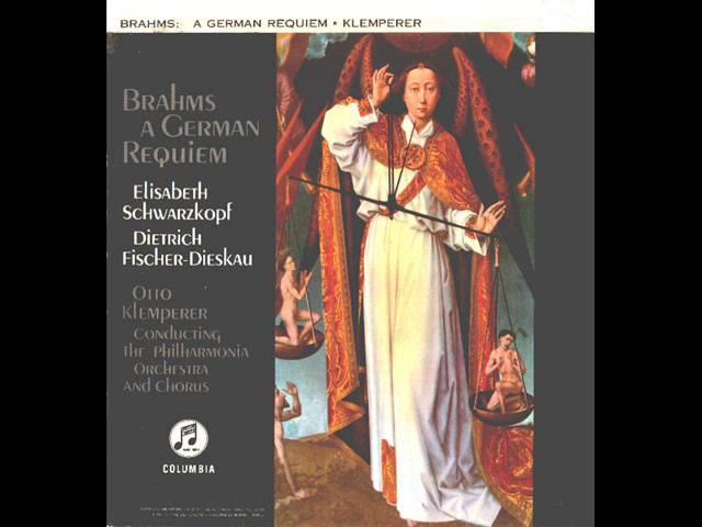Brahms Ein deutches Requiem op 45 Complete