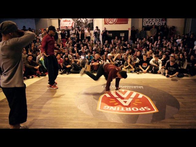 Kareem Tata vs Lil Zoo Yoriyas   RAW CIRCLES 2013