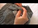 Юбка -  фанарик для девочки 2 - 3 лет, спицами ( бант )