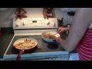 Овощное Блюдо из Баклажанов и жаренная Картошка Армянское Гостеприимство 13.01.2014