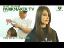Как подстричь длинные волосы How to cut long hair парикмахер тв peluquero tv