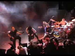 Dagoba The White Guy And The Black Ceremony Live à Montpellier en 2004