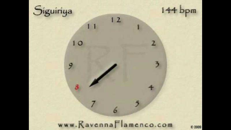 Flamenco Metronome Siguiriya 144 BPM