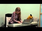 П.И.Чайковский Времена года-Осень.Учащаяся студии Gold Guitar Юля Давыдова