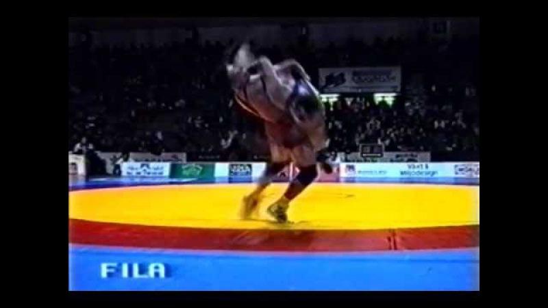 Kazakh greco-roman wrestler World champion Bahtiyar Baiseitov
