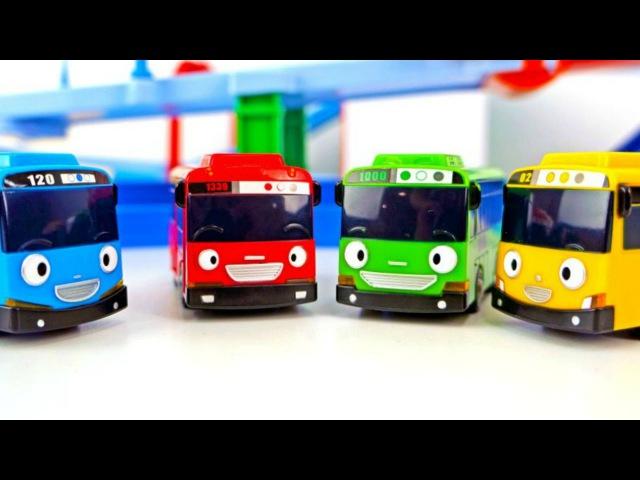 Eğitici çocuk filmi - Küçük otobüs Tayo - Sabah, öğlen, akşam