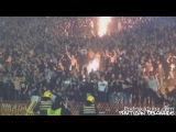 Partizan Ultras Grobari start fires in stands in Belgrade derby - The Best Of Football Fans HD