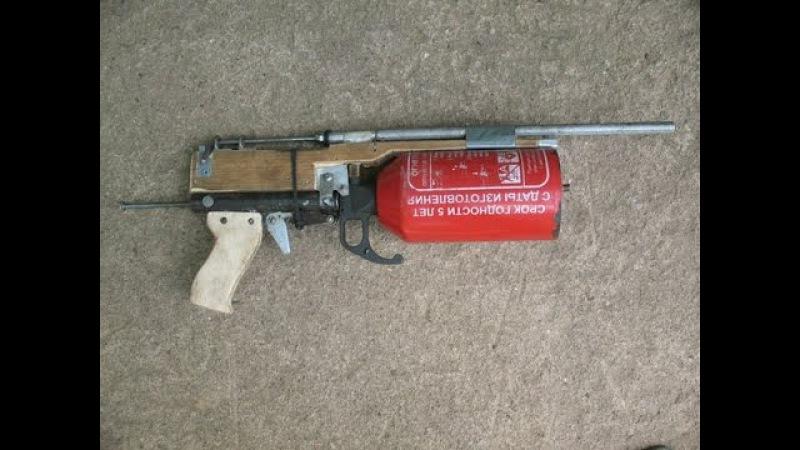 Делаем крутую пневматику стреляет на 100 метров / Making a cool airgun