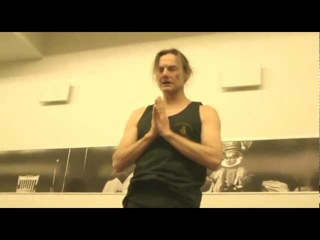 John Scott Ashtanga Yoga Workshop at Or Hayoga, Tel Aviv 2012 גון סקוט באור היוגה