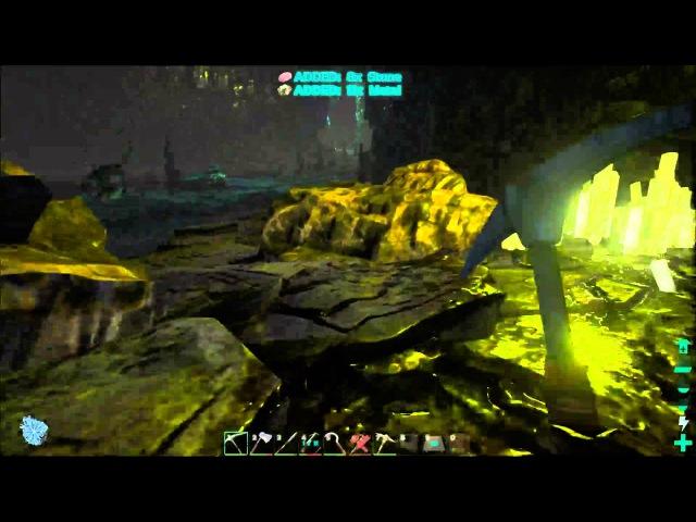 ARK: Survival Evolved Продолжаем веселье в пещере