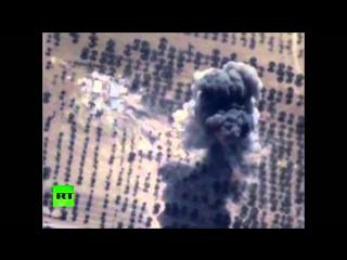 Авиация ВКС РФ уничтожила цех по изготовлению фугасных мин в Сирии