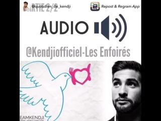 Kendji et Les Enfoires