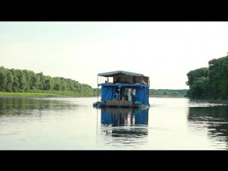 Сплав на плоту по реке Десна 2015 год